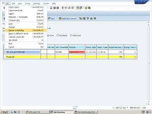 How-To Rerun BI_TCO_ACTIVATION Job 03 Repeat Scheduling