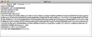 Minisap Inside License Key File
